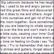 Why We Dig The Big Lebowski