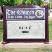 Dudeism Church Sign Generator