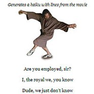 Lebowski Haikutomatic