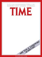 Lebowski Time Magazine Generator
