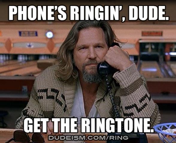 Ringtones Dudeism