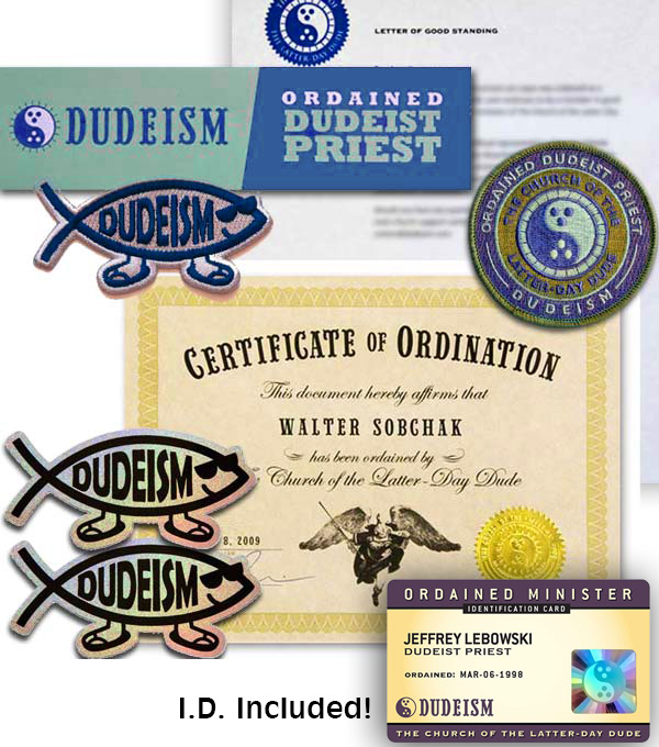 The Dudeism Store Dudeism