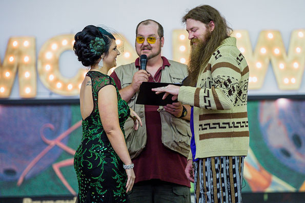 This Big Lebowski Themed Wedding Is The Best Themed Wedding