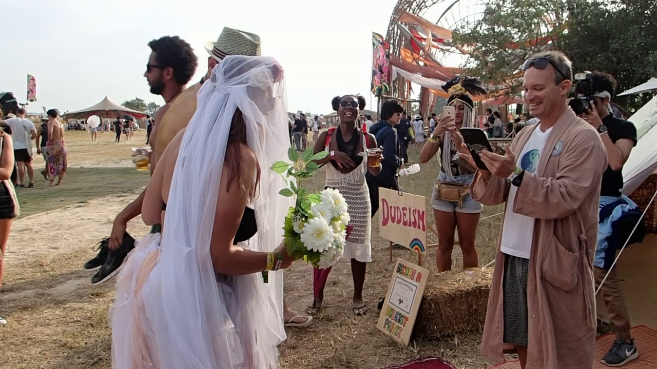 Wonderfruit 2015 Dudeist Wedding - YouTube