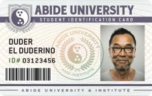 Abide University Student ID Card
